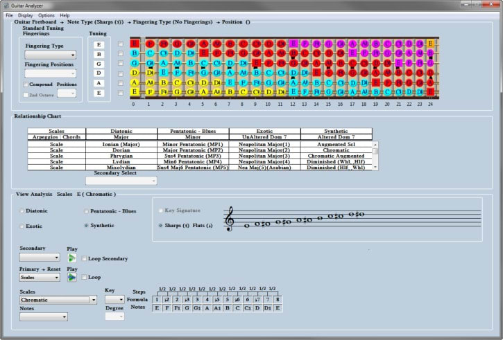 Guitar Analyzer Software