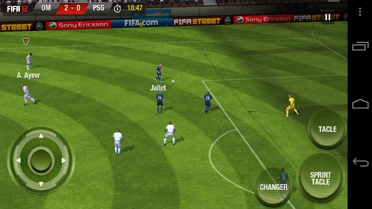 fifa 12 pour android t l charger. Black Bedroom Furniture Sets. Home Design Ideas