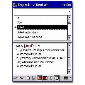 TrueTerm Wörterbuch Deutsch-Französisch
