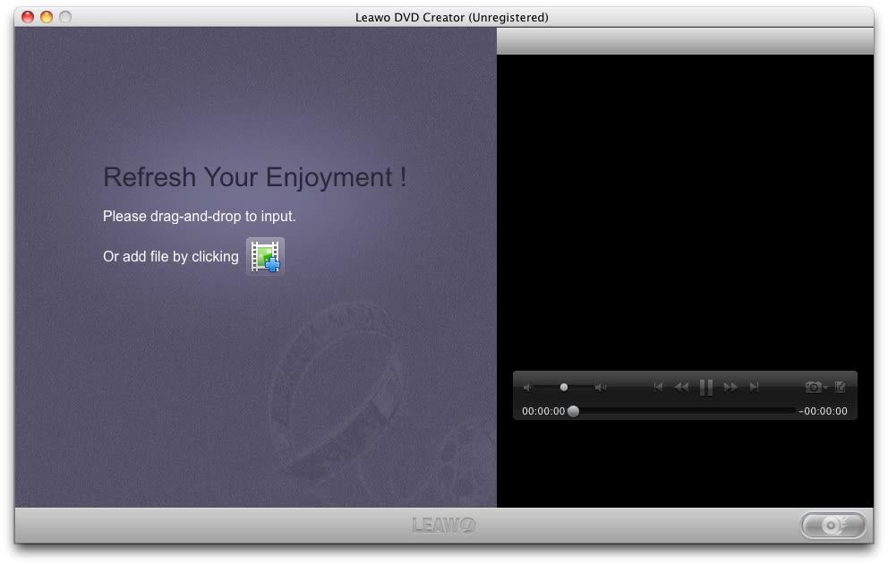 Leawo DVD Creator for Mac