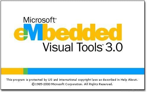 eMbedded Visual Tools