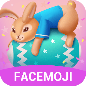 Cute Easter Bunny Emoji Keyboard for Android