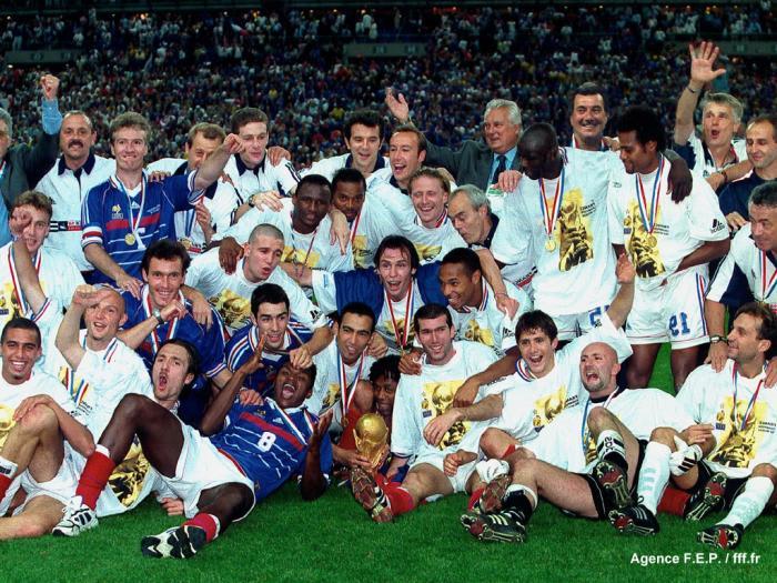Fond d'écran Equipe de France 1998