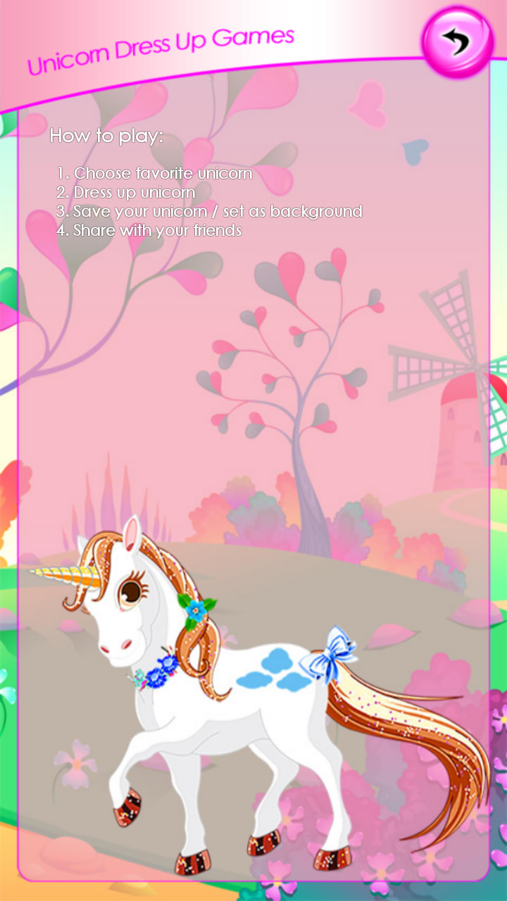 Unicorn Dress Up Games
