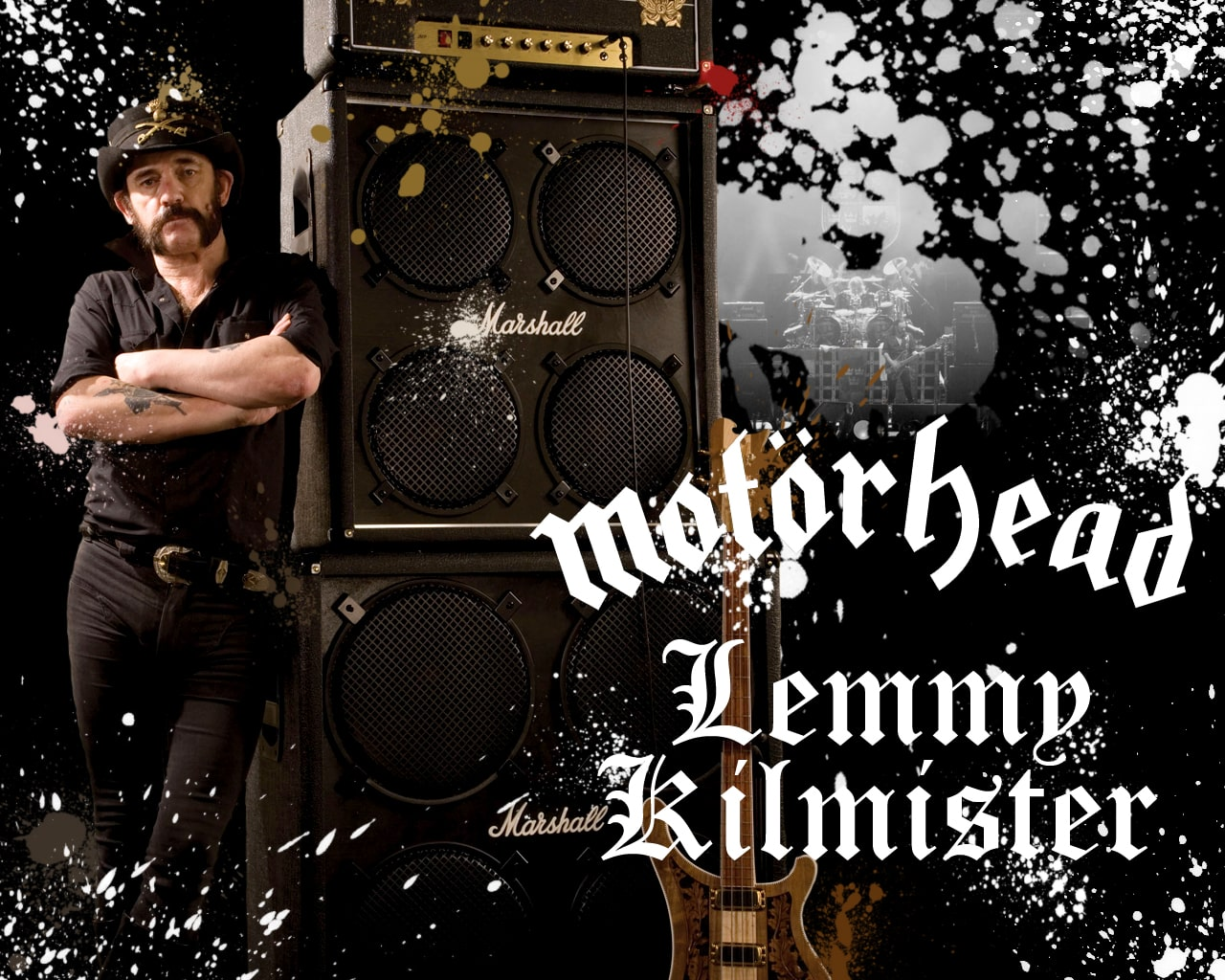 Tapeta Motörhead Lemmy Kilmister