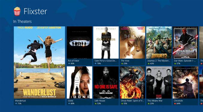 Flixster para Windows 10