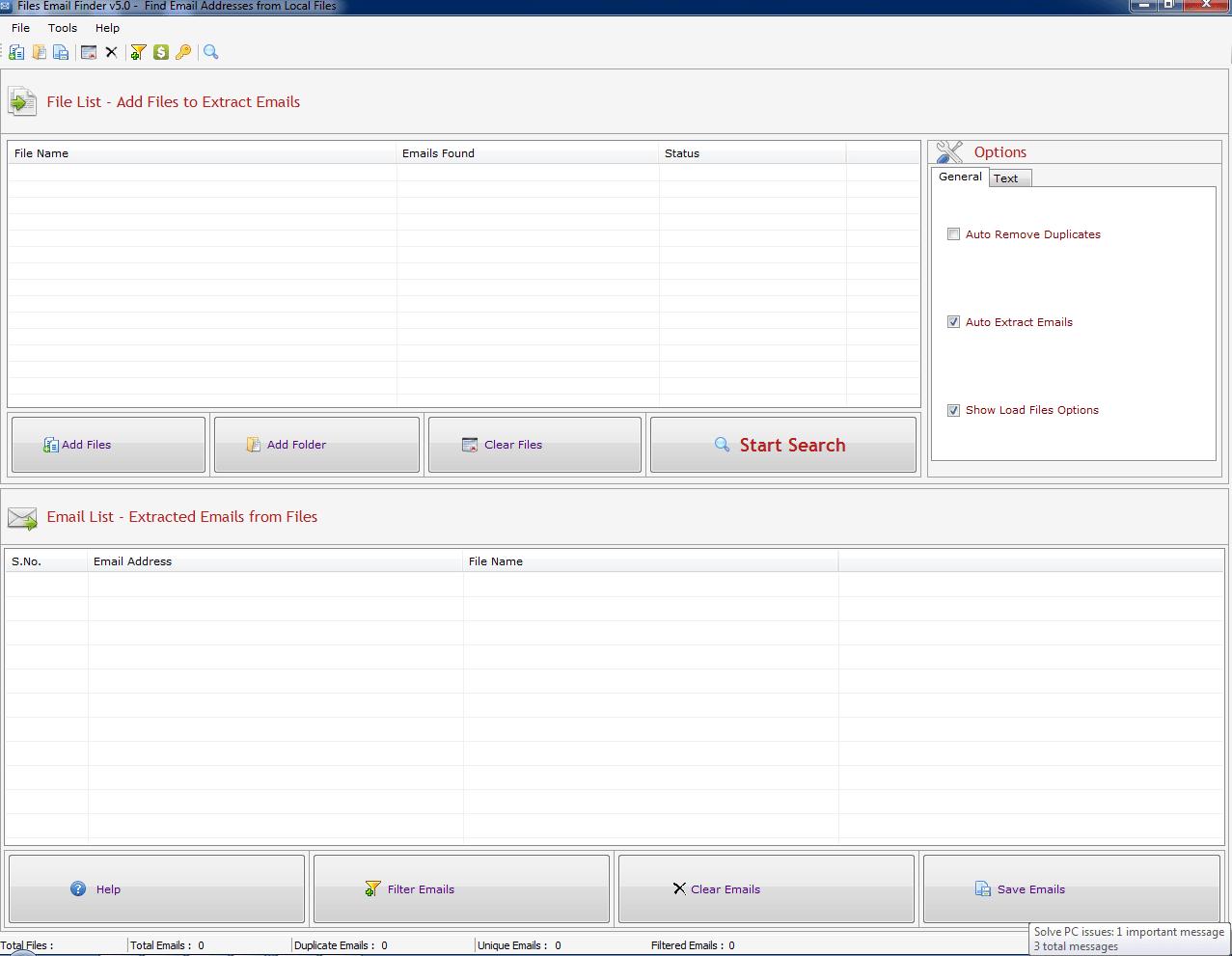 Files Email Finder