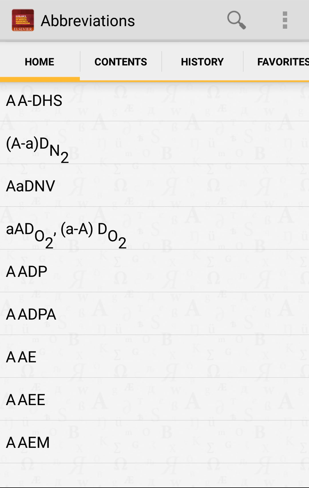 Dictionary of Medical Acronyms and Abbriviations