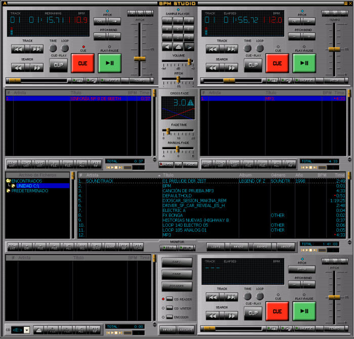 Bpm studio descargar for Programa mesa de mezclas