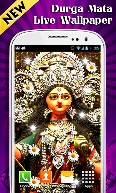Durga Mata Live Wallpaper New
