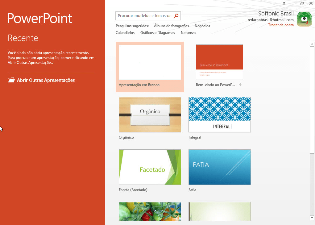 use or create themes in powerpoint powerpoint