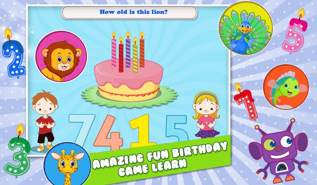 Preschool Toddler Birthday Fun