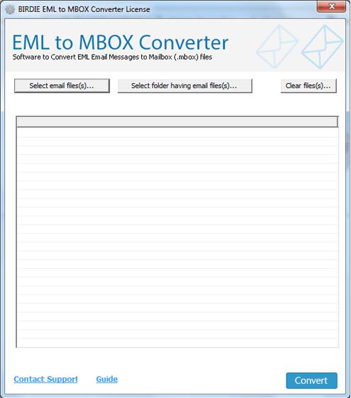 Birdie EML to MBOX Converter