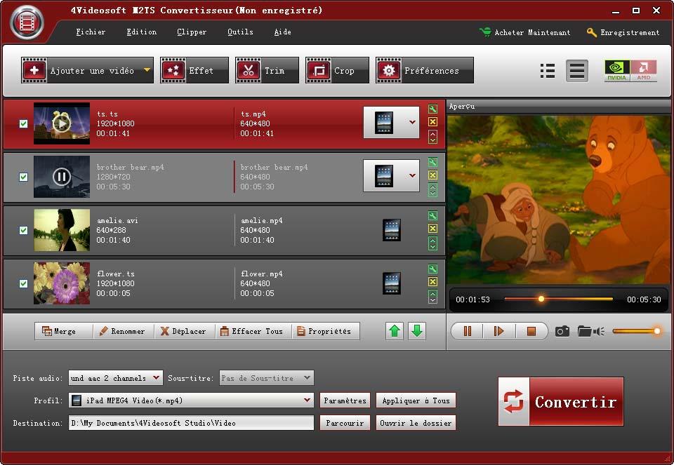 4Videosoft M2TS Converter