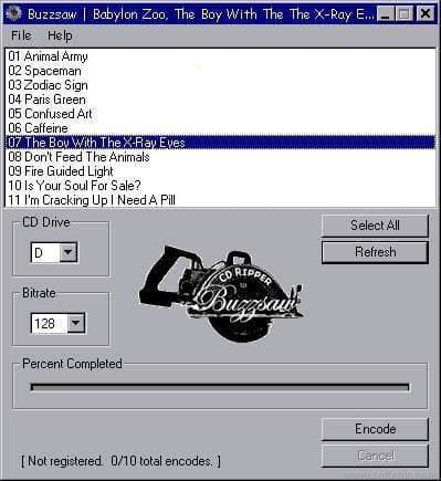 Buzzsaw CD Ripper