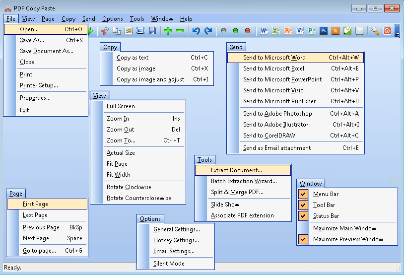 PDF Copy Paste