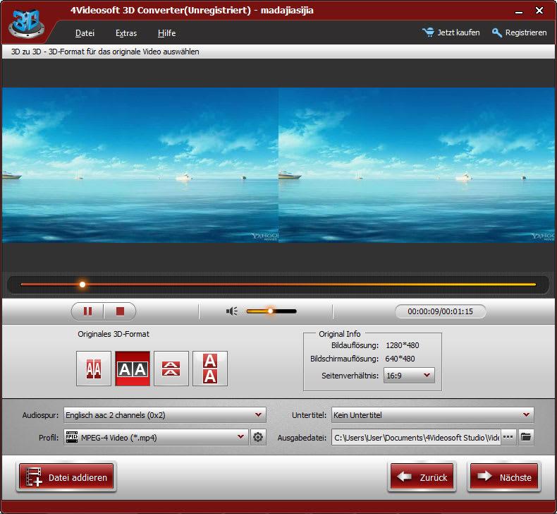 4Videosoft 3D Konverter