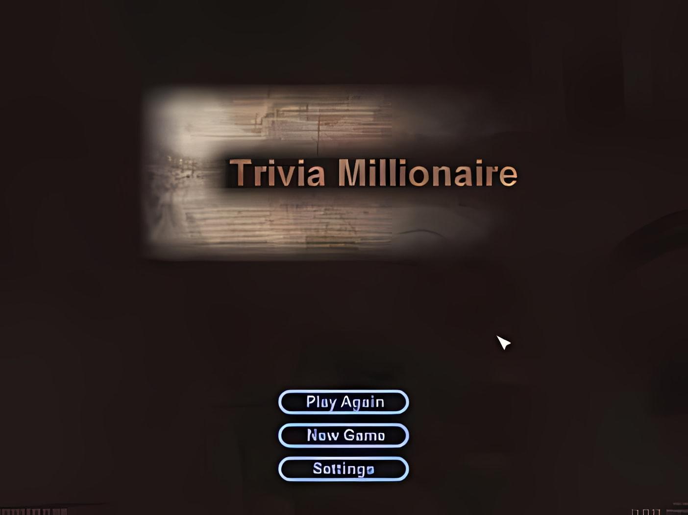 Trivia Millionaire