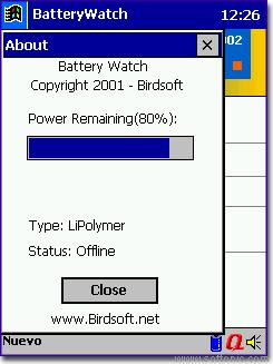 BatteryWatch