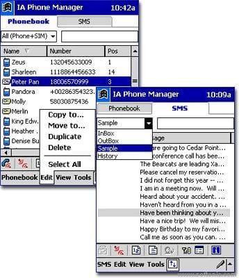 IA Phone Manager