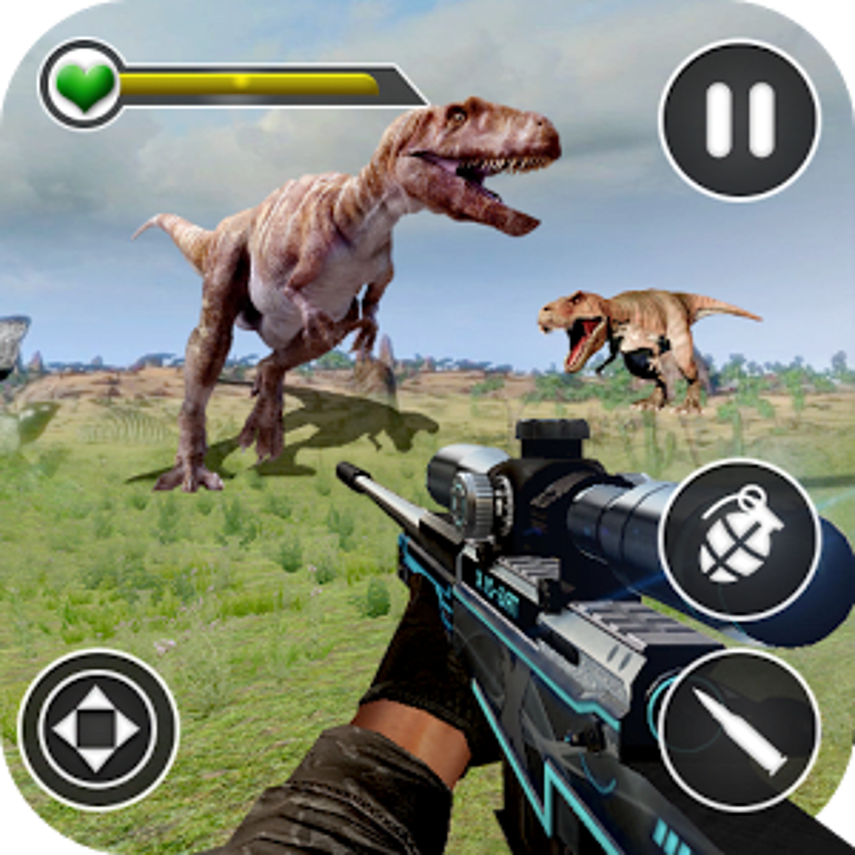 Dino Hunting Kill Safari Sniper Shoot 1.0