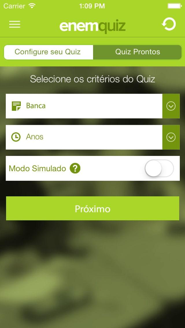 ENEM Quiz