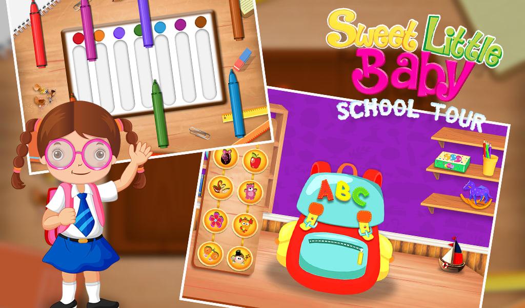 Sweet Little Baby School Tour