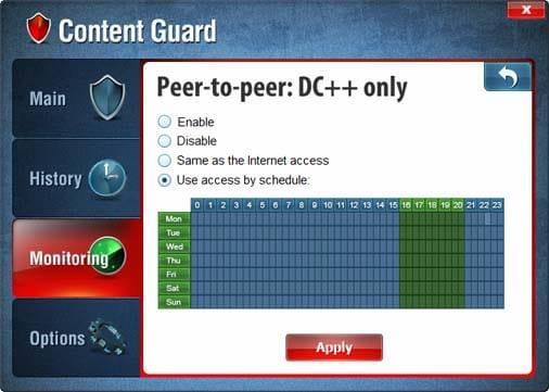 FPS Content Control