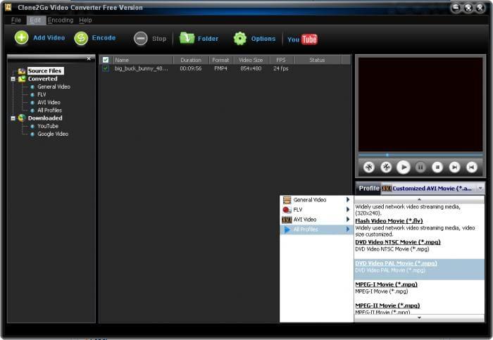 Clone2Go Video Converter