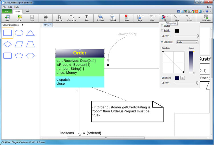 authors review - Free Software Flowchart