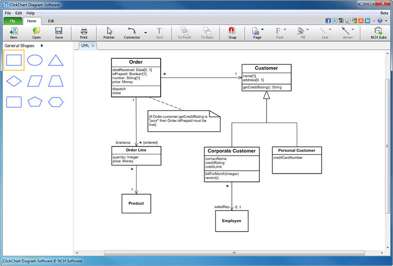 Clickcharts Flowchart Software Download