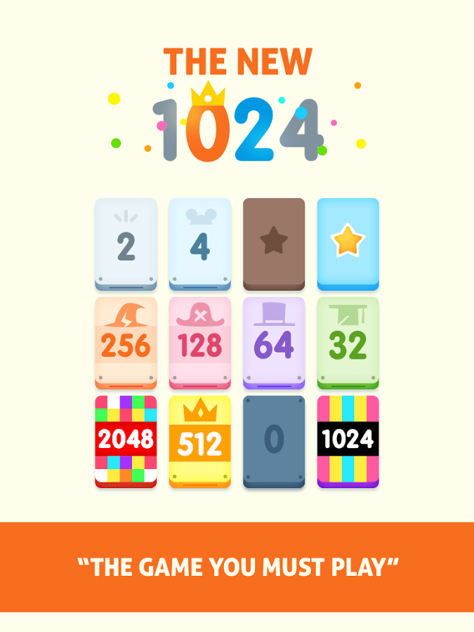 1024 - Match Twos and Threes!