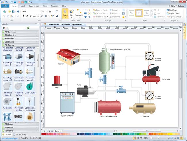 p-id-designer-screenshot Radiant Heating Schematic Diagram on sony tv, samsung lcd tv, computer circuit board, hvac system, am tube radio, digital multimeter,