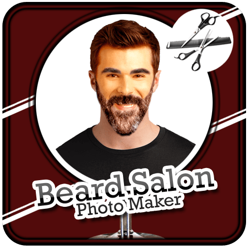 Beard Salon Photo Maker