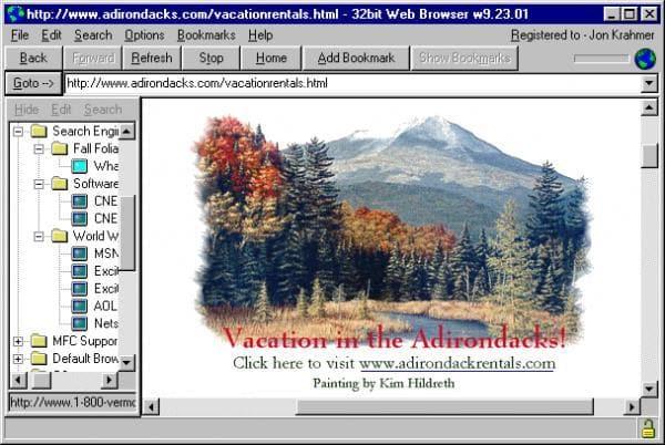 32bit Web Browser