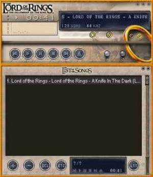 Lord Of The Rings WinAmp