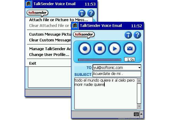 MP3TalkSender