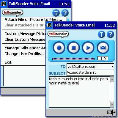 MP3TalkSender Beta