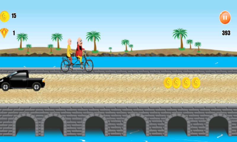 Motu Patlu Cycling Adventure