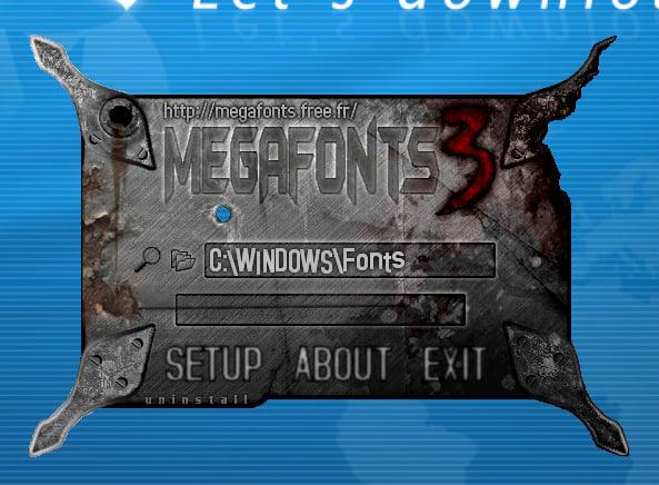 MegaFonts