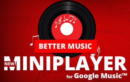 Better Music for Google Play Music 1.9.3