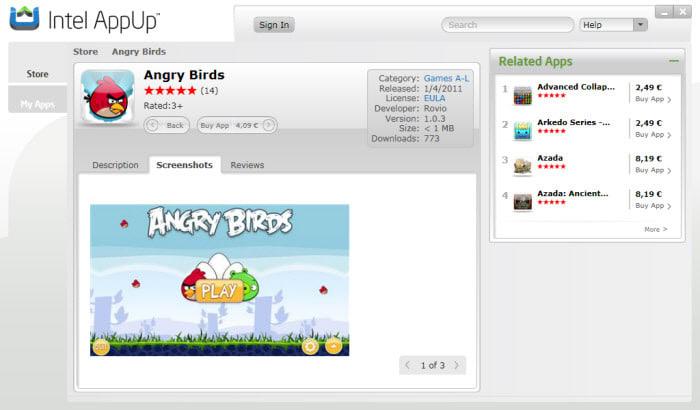 ANGRY BIRDS - Descargando el juego