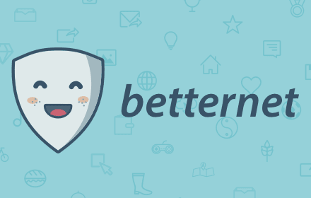 Unlimited Free VPN - Betternet for Chrome