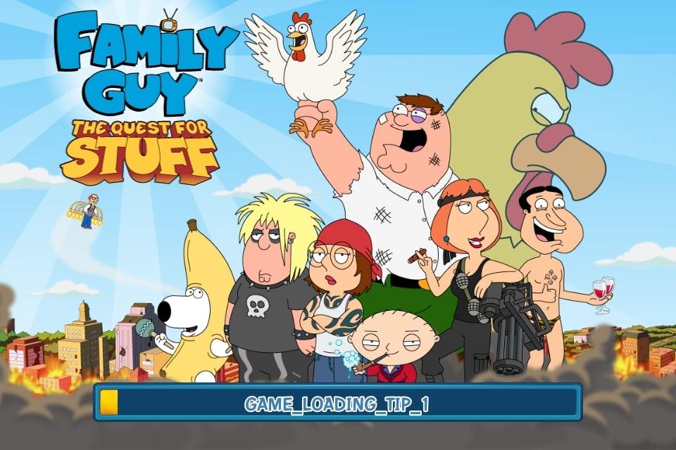 Family Guy: A la recherche des trucs perdus