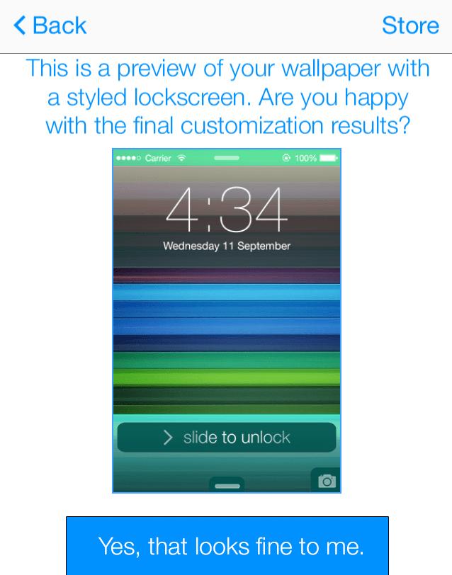 LockScreen for iOS7
