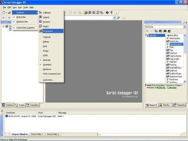 Script Debugger IDE