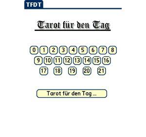 Tarot für den Tag