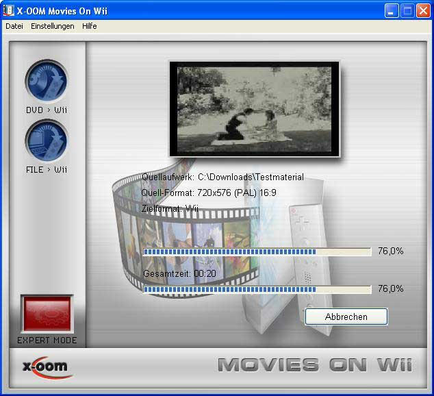 X-OOM Movies on Wii