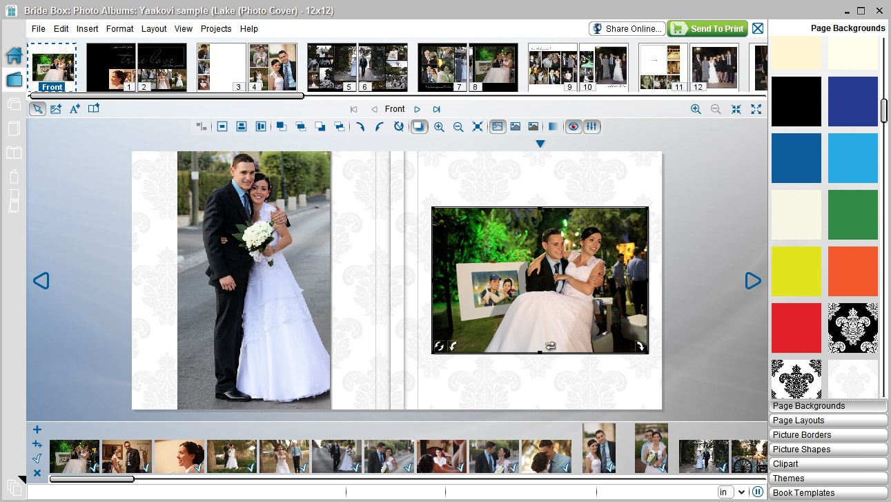 My Wedding Album Design