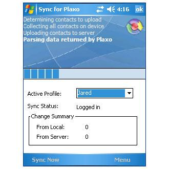 Mobile Sync for Plaxo
